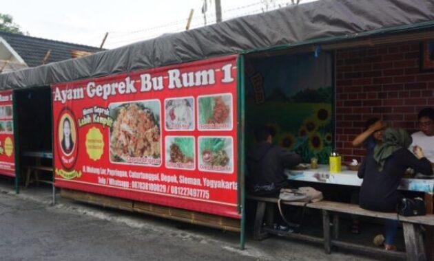 Warung Makan Ayam Geprek Bu Rum 1