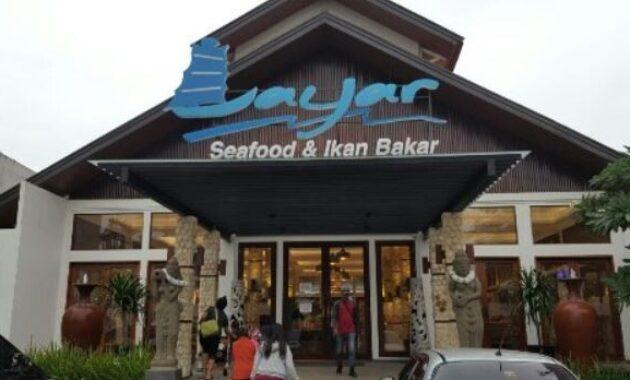 Layar Seafood & Ikan Bakar di Jakarta Barat