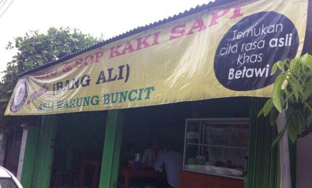 Soto Betawi-Nya Bang Ali jakarta barat